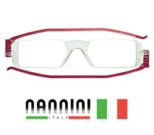 老眼鏡 女性 おしゃれ 折りたたみ NANNINI ナンニーニ 『 コンパクトグラス1 ダーク…