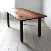 タブレットダイニングテーブル天板厚み25mm150×80cmオーダーサイズオーダー150160170180190200無垢材ウォールナットチェリーオーク天然木木製会議テーブル食卓テーブルおしゃれ国産日本製大川家具角丸