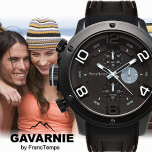 腕時計ジャンル年間ランキング1位 雑誌掲載 メンズ腕時計 クロノグラフ gavarnie ガヴァルニ 腕...