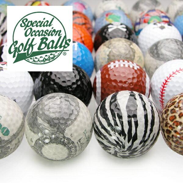おもしろゴルフボール♪ギフト、贈り物、自分用、コンペの賞品、etcカワイイから色々使えるおもしろアイテム おもしろ雑貨/おもしろグッズ