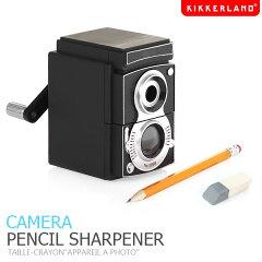 レトロなカメラ型鉛筆削り【KIKKERLAND】カメラペンシルシャープナー CAMERA PENCIL SHARPENER ...