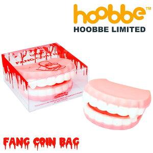 これで、誰にも盗られません。【hoobbe】FANG COIN BAG ドラキュラコインパース 小銭入れ★お...
