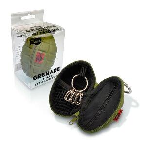 手榴弾型のキー&コインケース【motif/grenade】