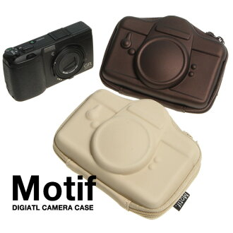 Motif. Watch HARD / mochiefdigital camera case L size imported goods and toys rather than gadgets Cynthia