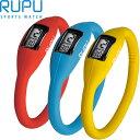 肌に優しいシリコンラバー♪シリコンリスト腕時計【RUPU/ルプ】メンズ/レディース【tg-w3】
