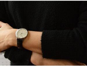 【安心と信頼の正規販売店】2年保証KLASSE14クラス14クラッセ腕時計DISCO-VOLANTEディスコボランテDI16SR001Wクォーツ36mmSILVER/BLACKレザーベルト腕時計とおもしろ雑貨のシンシアプレゼントギフト【対応可】