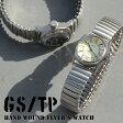 【ポイント10倍】 GS/TP 腕時計 Flyer's 手巻き腕時計 メンズ腕時計 日本製 イギリス デザイン メイドインジャパン MMD01B MMD01C 蛇腹 エクステンションベルト ミリタリー 腕時計とおもしろ雑貨のシンシア MZ99