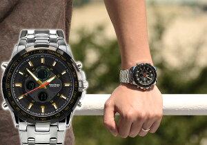 腕時計送料無料あす楽シンシア限定販売FrancTempsフランテンプスGRANDEグランデ腕時計メンズ腕時計うでどけいブランドランキングカジュアルギフトメンズ腕時計【あす楽対応可】腕時計とおもしろ雑貨のシンシアプレゼント腕時計シルバーブラック