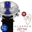 【安心と信頼の正規販売店】 2年保証 KLASSE14 クラス14 42mm クロノグラフ 腕時計 GT14 CHRONOGRAPH VO15CH008M VO15CH009M 腕時計とおもしろ雑貨のシンシア プレゼント クラッセ 【あす楽対応可】