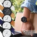 Gramont グラモン QKD052 腕時計 メンズ レデ...