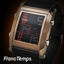 【レビュー7,300件以上】 メンズ腕時計 FrancTem...