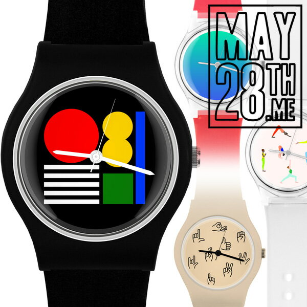 腕時計, 男女兼用腕時計 May28th watches