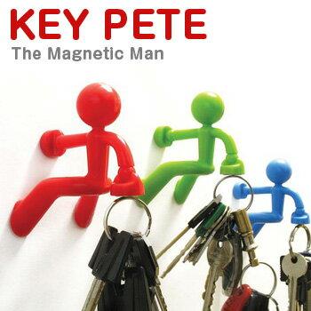 強力磁石で鍵を持ってくれるカラフルな鍵かけ!