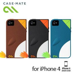 不思議なペンギンモチーフなiPhoneケースiPhone4S対応 【case-mate/ケースメイト】Waddler Case...
