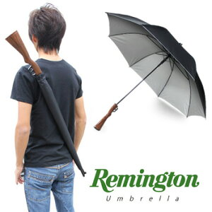 ライフル傘 レミントン・アンブレラ★おもしろ雑貨/おもしろグッズ・ギフト【あす楽_土曜営業】 Remington umbrella 輸入雑貨腕時計とおもしろ雑貨のシンシア