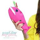 popkiller(ポップキラー) CREATURE PEN CASE クリーチャーペンケース ポーチ 魚 ニマル 動物 かわいい おしゃれ シンプル おもしろ雑貨 プレゼント ギフト 【メール便OK】