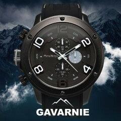 BIGフェイスがインパクト大のメンズ腕時計!クロノグラフ 腕時計 メンズ Men's うでどけい ブラ...