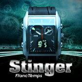 メンズ 腕時計 Franc Tempsフランテンプス STINGERスティンガー腕時計 デジタル メンズ Men's うでどけい ブランド ランキング 所ジョージの世田谷ベース 腕時計とおもしろ雑貨のシンシア プレゼント 【あす楽対応可】
