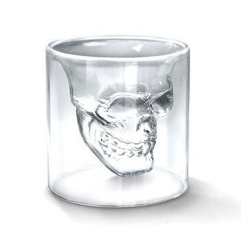 スカル ヘッドグラス
