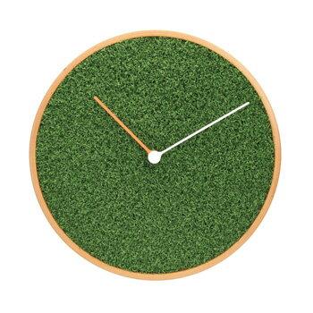 芝生クロック 掛時計