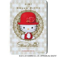 ♪ハローキティと赤い帽子が夢のコラボ♪赤い帽子をかぶったハローキティがキュート★一配送先...
