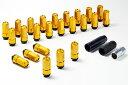 CRS ESSEX 汎用 4穴車用 2ピースシェルナット ローレットタイプ/M12×P1.5 シーア