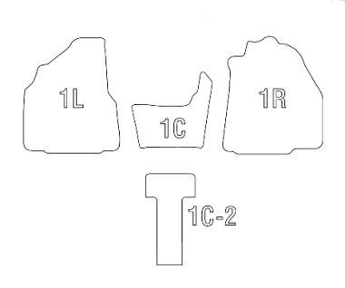 【Clazzio(クラッツィオ)】立体マット★ET-1530エスティマGSR50W/GSR55W/ACR50W/ACR55W★