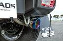 JAOS ジャオス ジムニー シエラ JB74系 18.07〜 マフラー ZS TC チタンカラーテール ノーマルバンパー用 B702518BTC