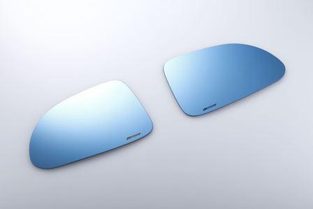 外装・エアロパーツ, ドアミラー SPOON SPORTS S2000 AP1 2 BLUE WIDE DOOR MIRROR 76203-AP1-030