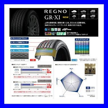 国産ブリヂストンREGNOレグノGR-XI低燃費静粛性高性能セダンコンパクトカー1本ゴム195/65R15195/65-15CT200hプリウスアリオン