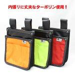 侍BLACKターポリン腰袋(数量限定特価品)【さむらいブラック釘袋電工ハーネス内貼り】