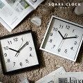 壁掛け時計北欧おしゃれ静音四角音がしない見やすい秒針掛け時計掛時計かけ時計時計とけいメンズレディース子供かわいいシンプルスイープムーブメントシックモダンスクエアスイープアナログウォールクロック黒白