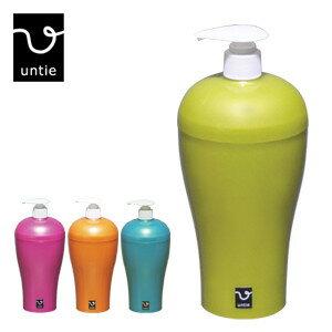 untie アンティ「ディスペンサー R-UN3」シャンプーボトル ポンプボトル バスグッズ シンカテック
