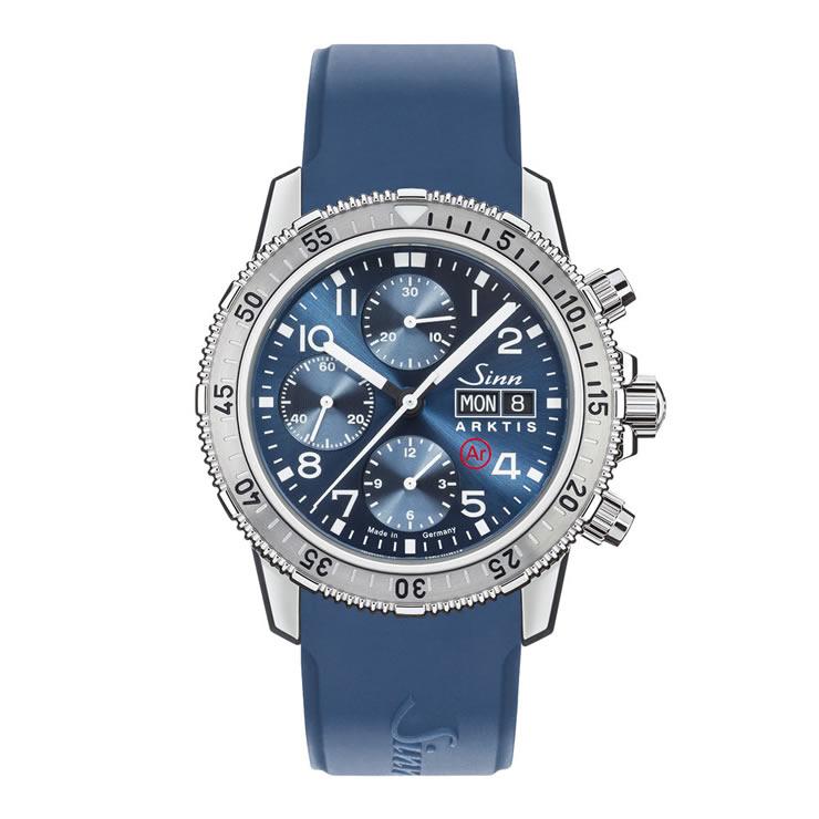 ジン 腕時計 Sinn 206.ARKTIS.II シリコンストラップ仕様 分割払いもOKです