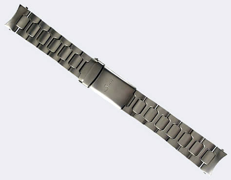 【SINN】 【ジン】 時計 ベルト バンド ブレスレット 757、857、EZM7 (22mm) 純正ステンレススチール 時計バンド SSテギメント:Sinn腕時計の専門店