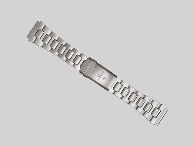 【SINN】 【ジン】 時計 ベルト バンド ブレスレット 140.ST (22mm) 純正ステンレススチール 時計バンド SSサテン・テギメント