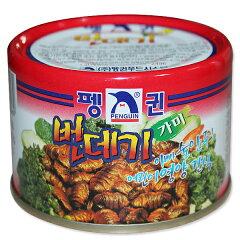 カイコ缶詰(蚕・ポンデギ・ポンディギ) 130g <韓国食品・韓国食材>
