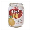 おろし梨ジュース(缶) 238ml <韓国ドリンク・韓国ジュ...