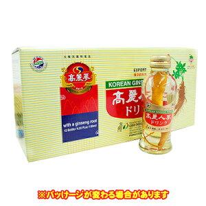 高麗人参ドリンク(■BOX 12入) <韓国健康食品>
