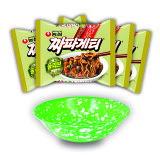 『農心(ノンシム)』チャパゲティ5個+韓国お皿1個 <韓国ラーメン>