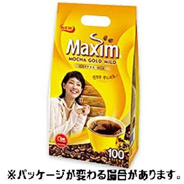 ★『メクシム』モカコーヒー(MAXIM) MOCHA 100入 <韓国コーヒー・インスタントコーヒー>
