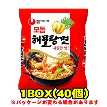 『農心(ノンシム)』海鮮湯麺(ヘムルタンミョン)(■BOX 40入) <韓国ラーメン>