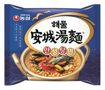 『農心(ノンシム)』海鮮安城湯麺(アンソンタンミョン) <韓国ラーメン>