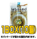 『清水』乾冷麺720g(4人分)(■BOX 10入) <韓国冷麺> その1