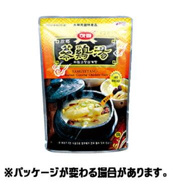 『夏林(ハリム)』参鶏湯(サムゲタン) 800g(■BOX 16入) <韓国スープ>
