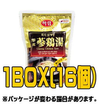 《冷凍》『夏林(ハリム)』冷凍参鶏湯(サムゲタン) 800g(■BOX 16入) <韓国スープ>
