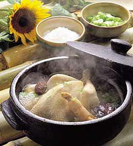 『マニカ』参鶏湯(サムゲタン) 800g(■BOX 12入) <韓国スープ>