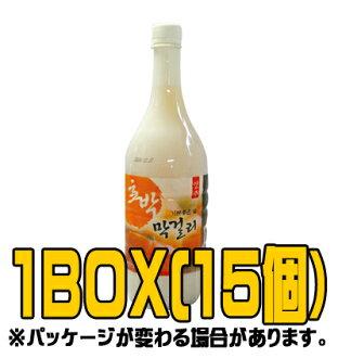"""""""Yangzhou"""" kabochamaccoli 1 L (♦ BOX 15 pieces) < doburoku Korea >"""