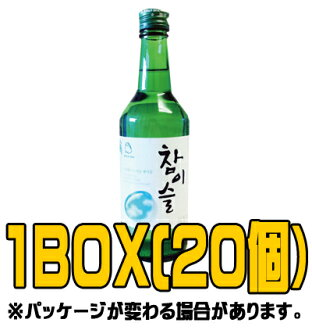 """(Jinro) Jinro's chamisul 360 ml Japan Edition (♦ BOX 20 pieces) < Korea shochu: 17 times"