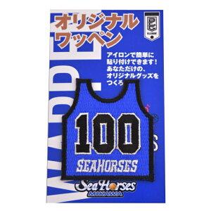 【B.LEAGUE】【Bリーグ】シーホース三河ワッペン100